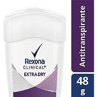 Antitranspirante Rexona Clinical Extra Dry en crema para dama 48 g
