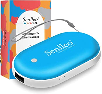 Senlleo Rechargeable 2-in-1 Hand Warmer and 5200mAh Power Bank