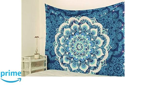 Amazon Com Popular Handicrafts Kp873 Tapesties Hippie Mandala