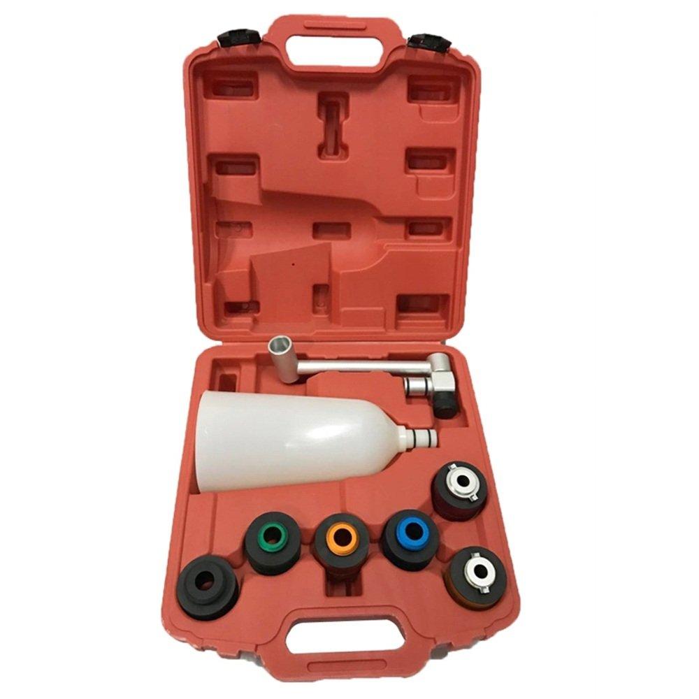LARS360 Ö l-Einfü llhilfe-Adaptersatz, Universal Trichter Ö ltrichter Trichtersatz Auto Werkzeug, Kunststoffausfü hrung Trichter Set