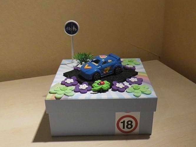 Geldgeschenk Geldbox Zum 18 Geburtstag Auto Fuhrerschein Amazon De