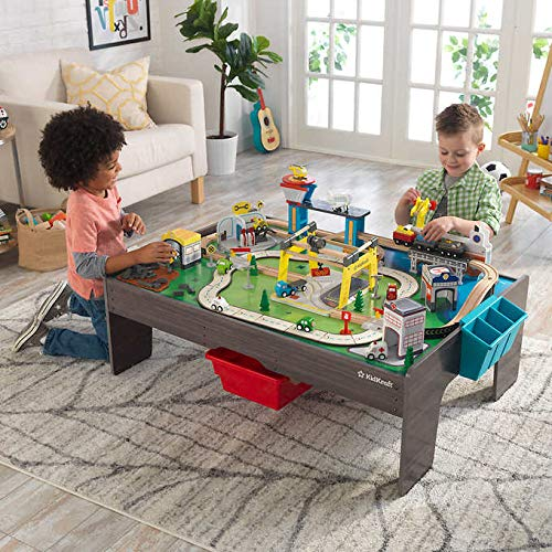 FCV My Own City Vehicle and Activity Table With Ez Kraft Assembly (reversible Table Top With Art Caddy and 2 Storage Bins) 3+, 50 Pound by FCV (Image #2)