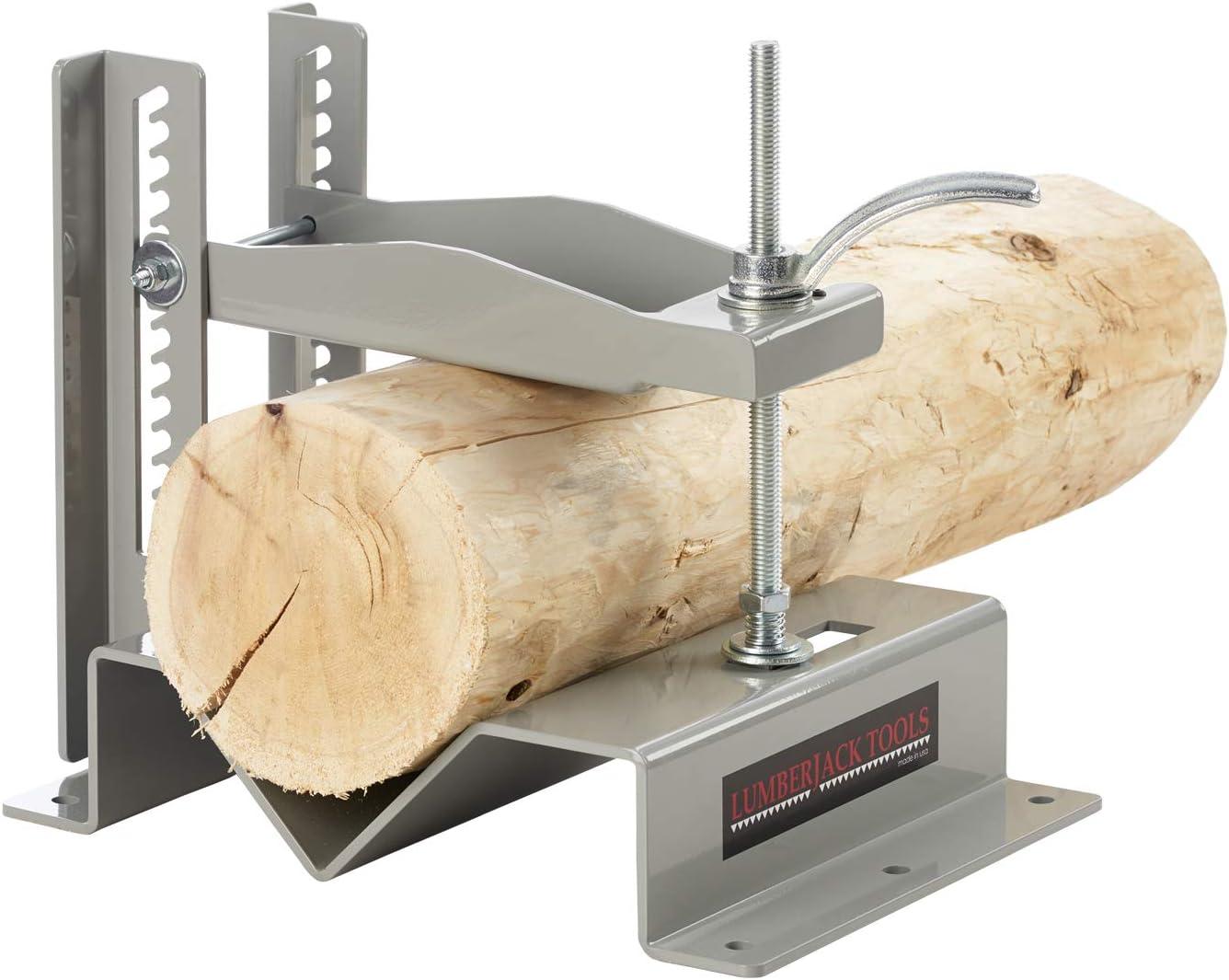 "Lumberjack Tools Log Lock XL 2-1/2"" - 8"" Logs, XL Log Holder - XL Log Vice (LL2580)"