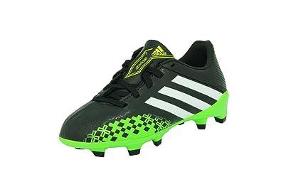 4424f7ae7 adidas PREDATOR ABSOLADO LZ TRX FG Black Junior Soccer Football Shoes