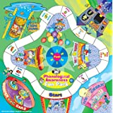 Phonological Awareness Fun Park Board Game and Book - Super Duper Educational Learning Toy for Kids
