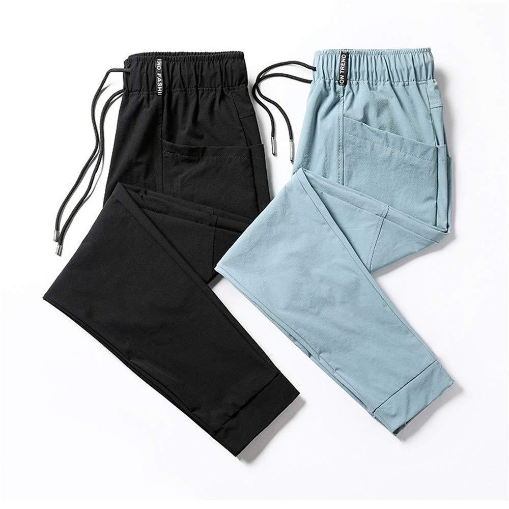 Pantalones jogger para hombre Pantalones de chándal con cremallera ...