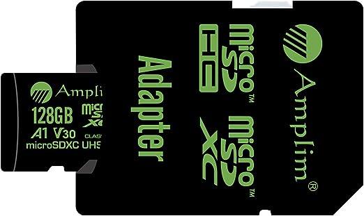 Amazon.com: Amplim 256GB 128GB 64GB 16GB Micro SD SDXC V30 ...