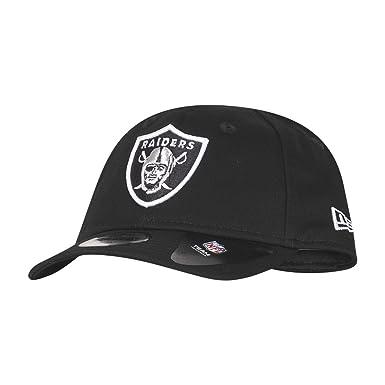06398008207 New Era Kids Essentl 9Forty Infant Adjustable Cap Oakland Raiders Schwarz