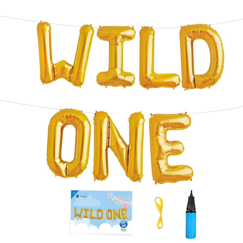 Amazon.com: Wild one birthday decorations- Wild one cake topper ...