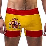 DEZIRO - Bañador para Hombre, diseño de la Bandera de España ...