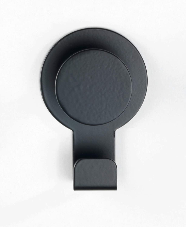 Gancho de pared Wenko Blandas acero inoxidable chrom 5 x 7,5 x 2,5 cm sin agujeros, acero inoxidable