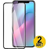 [2 Adet] mobile store 5D Glass iPhone 11 Ekran Koruyucu Tam Kaplayan Cam