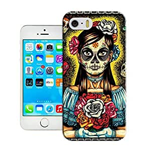 LarryToliver at the first sight you will love it for iphone 5/5s Customizable Skull art illustration case cover