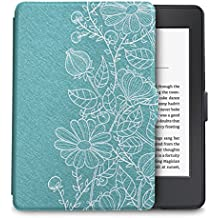 WALNEW Amazon Kindle Paperwhite Case Lightest and Thinnest Premium Leather Smart Protective Cover for Kindle Paperwhite with Auto Wake/Sleep Function (Mandala)