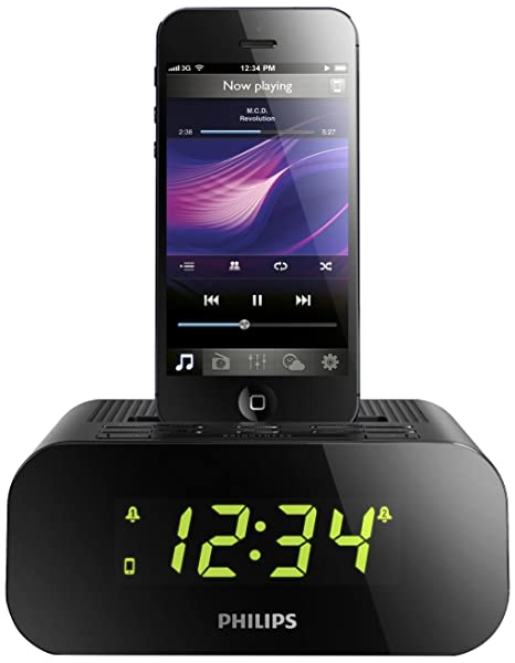 Philips AJ3275DZ/12 - Radio (Reloj, FM, 2 W, LED,