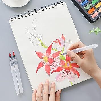 Painting Drawing Refillable Watercolor Ink Pen Pen Pilot Water Brush Creative