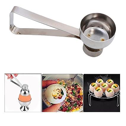 Eggs Stainless Steel Shell Topper Cutter Knocker Opener Tool Kitchen Boiled LP