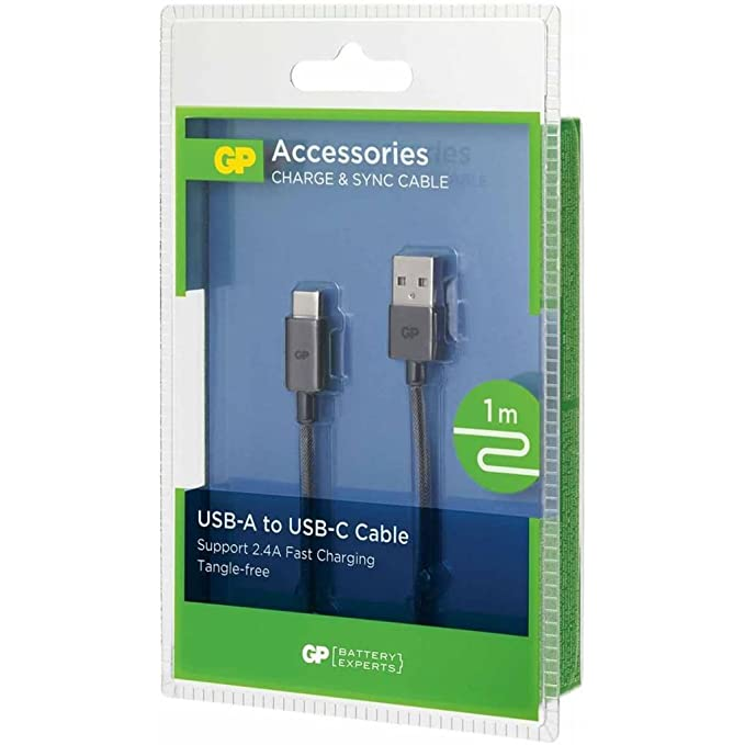GP CB17 Lade & Sync cable Type-C at USB-A 1m: Amazon.co.uk: Electronics