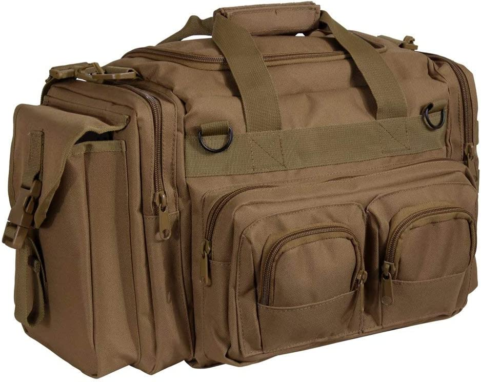 Conceal & Carry Molle Duffle Tactical Range Gear Bag Coyote Brown