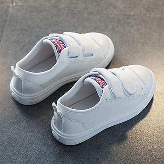 YanHoo Zapatos para niños Zhongda Zapatos Casuales para niños Zapatos de Lona Zapatos Deportivos Niñas Entrenadores Zapatillas de Deporte Zapatillas ...