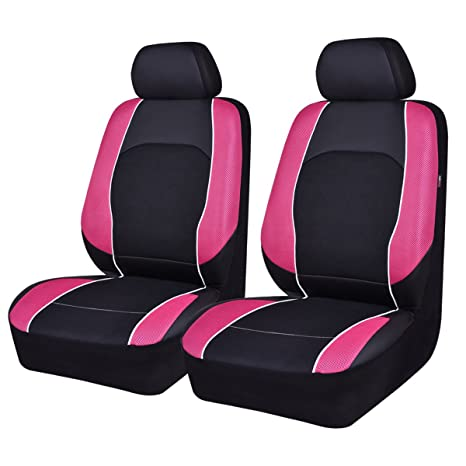Amazoncom New Arrival Car Seat Covers Black Pink For Women Girls