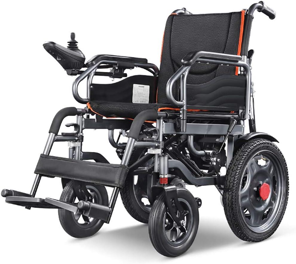 Sillas de Ruedas Eléctricas Batería de Litio para Personas Mayores Discapacitados Luz Plegable Hogar Médico Inteligente Scooter Automático