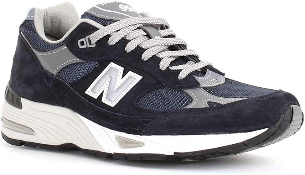 Luxury Fashion | New Balance Hombre NBM991NV Azul Zapatillas | Temporada Outlet: Amazon.es: Zapatos y complementos