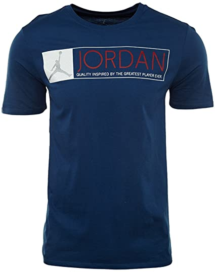 f8c426ac85ea7c Image Unavailable. Image not available for. Color  Nike AIR Jordan Mens Short  Sleeve ...