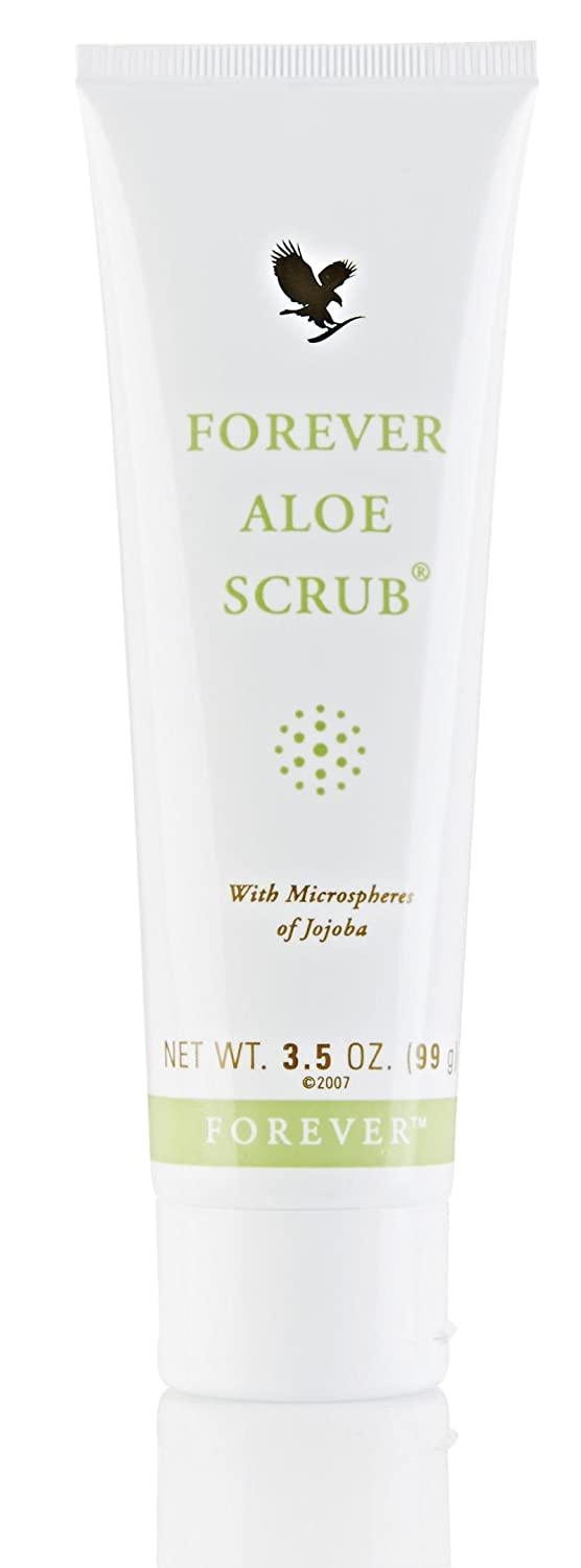 Due to the working of the jojoba beads in the Forever Aloe Scrub dead skin cells disappear, your skin becomes soft again and the skin is better able to breathe. This scrub is so mild that it even applies for daily use on the facial skin (except the area su