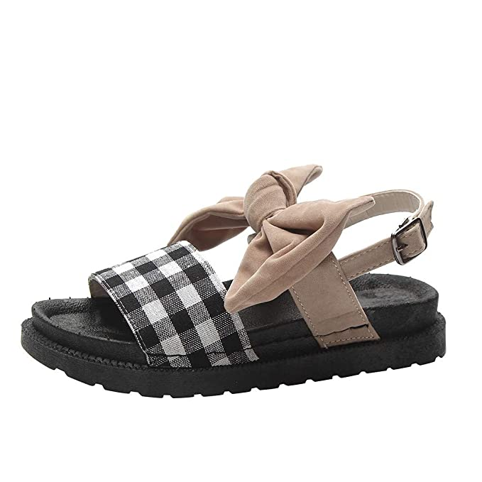 Darringls_Sandalias para Mujer,Sandalias Mujer Verano Alpargatas Plataforma Cuña Bohemias Planas Mares Romanas Playa Gladiador Tacon Zapatos Zapatillas: ...
