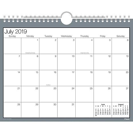 Ano 2020 Calendario.Mead 2019 2020 Calendario De Pared De Ano Academico Pequeno