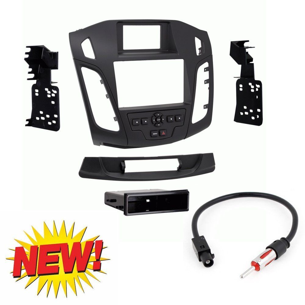 Scosche Fd6215b 2015 Up Ford Focus Iso Double Din W Wiring Harness Metra 99 5843b Dash Kit Wire For And