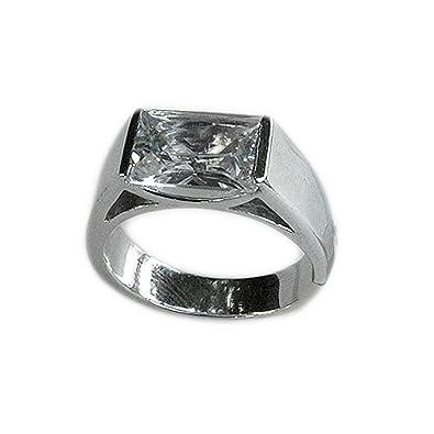 3641cf0ab Amazon.com: Swarovski Crystal Clear Stone Ring: Jewelry