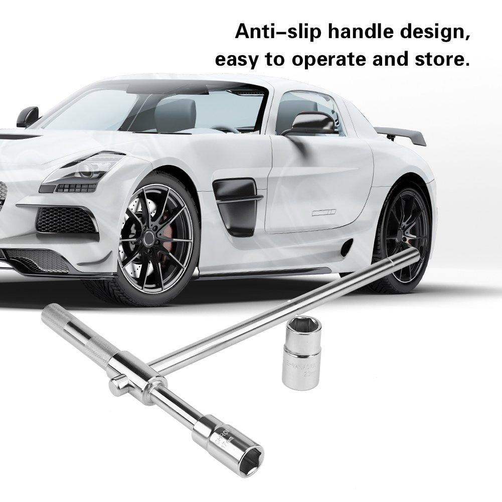 EBTOOLS Universal Lug Wrench Cross Labor Saving Entfernen Reifenschl/üssel Spanner Auto Fahrzeug Auto Reifenreparaturwerkzeuge