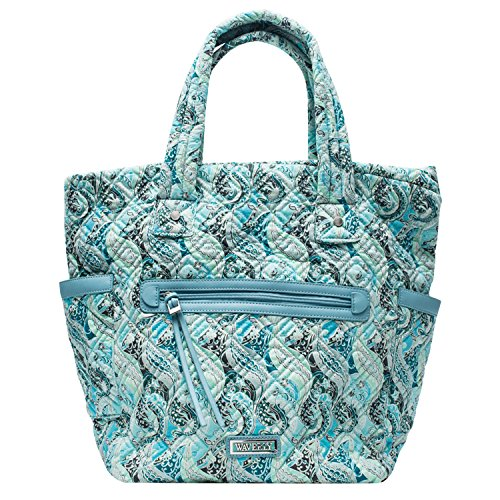 quilted diaper bag - 2
