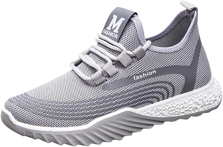 Reasoncool - Zapatillas de Deporte para Mujer, con Cordones ...