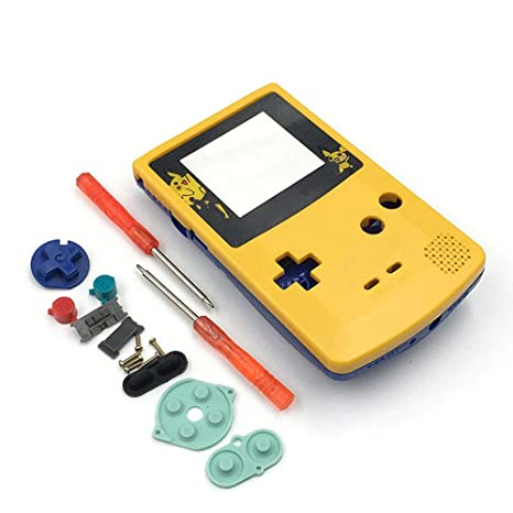 Amazon.com: Carcasa de repuesto para Gameboy Color GBC para ...