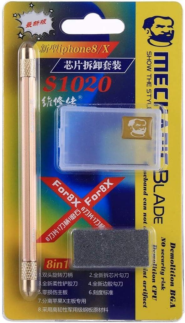 Convenient Family Must-Have Repair Tool Multifunction 8 in 1 BGA Repair Blade Set Chip Disassembly Tool for Phone