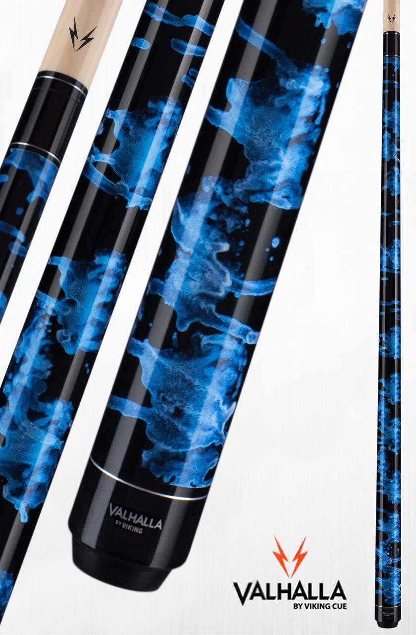 Viking Valhalla 200 Series Pool Cue 58'' Billiards Stick Pick Your Design (19oz, VA211)