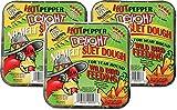 C & S Hot Pepper Delight No Melt Suet Dough Cake (3 Pack/11.75 oz each)