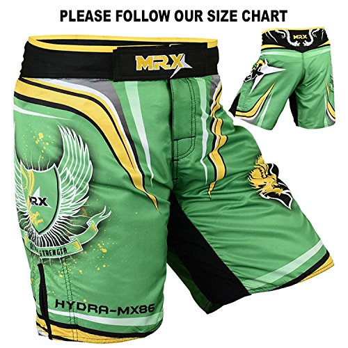 MRX MMA Training Fight Shorts Grappling UFC Cage Fighting Stretch Penals Clothing Kickboxing Muay Thai Hydra-MX86