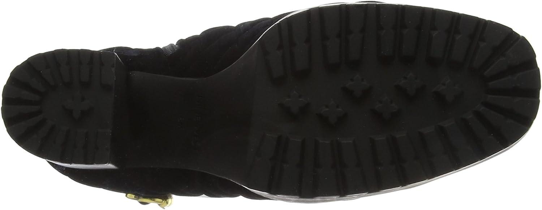 Negen West vrouwen Hisani Combat laarzen zwart zwart