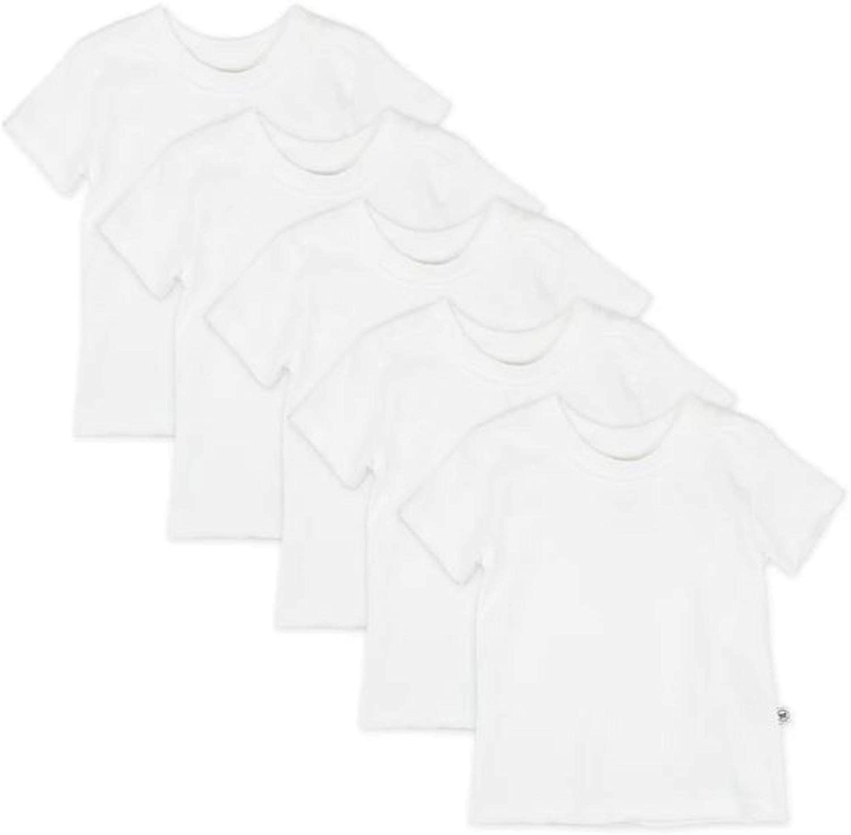 HonestBaby Baby Organic Cotton Short Sleeve T-Shirt Multi-Packs: Clothing