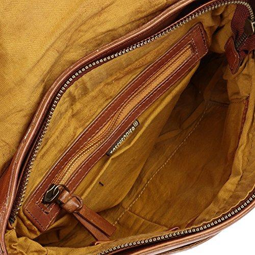 Taschendieb-Wien TD0827C, Borsa a mano donna marrone cognac