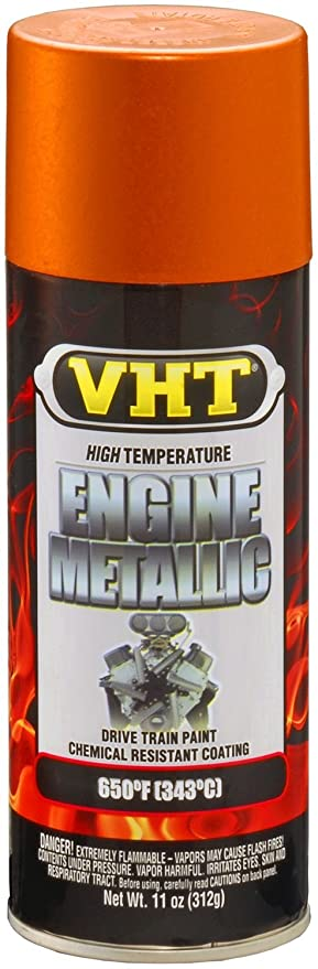 VHT SP401 Engine Metallic Fire Red Paint Can - 11 oz