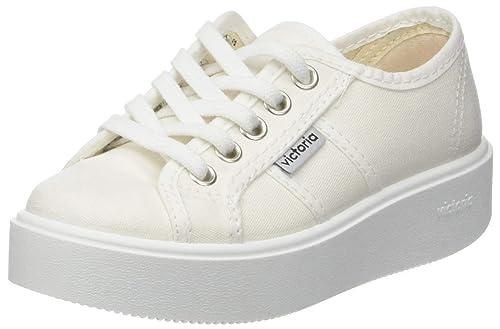Victoria Basket Lona, Zapatillas para Niñas: Amazon.es: Zapatos y complementos