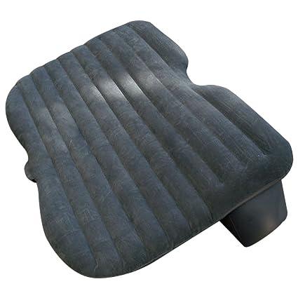Amazon.es: SODIAL coche cama de aire hinchable para asiento de ...