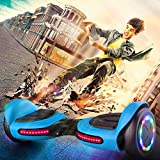 TOMOLOO Music-Rhythmed LED Hoverboard for Kids