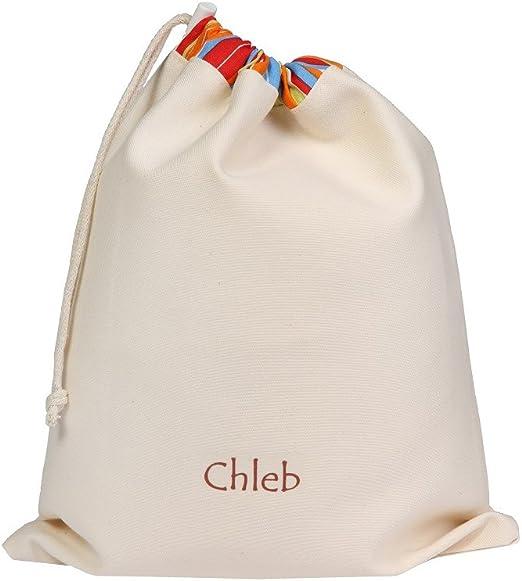Bolsa para el pan hecha de algodón para el almacenamiento palitos ...