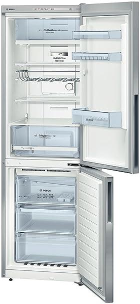 Bosch KGN36VL31 congeladora - Frigorífico (Independiente, Acero inoxidable, Derecho, 319L, SN, T, 42 Db): Amazon.es: Hogar